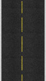 Asphalt road texture Stock Photo