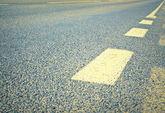 Asphalt road texture Royalty Free Stock Image