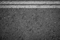 Asphalt Road texture with white strip Stock Photo