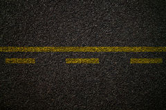 Asphalt road texture Royalty Free Stock Photos