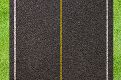 Asphalt road texture. Royalty Free Stock Image