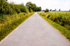 Asphalt Road to Infinity Royalty Free Stock Photography