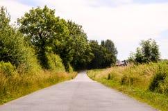 Asphalt Road to Infinity Stock Photo