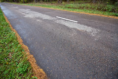 The asphalt road Royalty Free Stock Photo