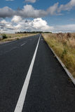 Asphalt road in UK Royalty Free Stock Images