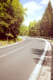 Asphalt road Stock Images