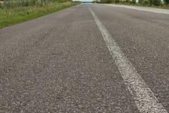 The asphalt road Stock Photos