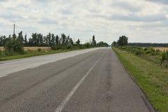 The asphalt road Royalty Free Stock Photo