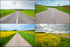 Asphalt Roads Royalty Free Stock Photography