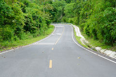 Asphalt roads Stock Photos
