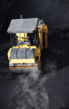 Asphalt roller Royalty Free Stock Photography