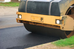 Asphalt Roller Stock Photography