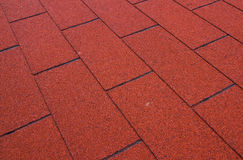 ASPHALT ROOF Royalty Free Stock Images