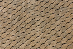 Asphalt roof shingles - roofing construction, roofing repair. for background or texture.  Royalty Free Stock Photo