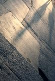 Asphalt shadows Stock Photo