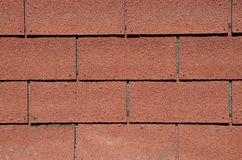 Asphalt shingled roof Royalty Free Stock Images