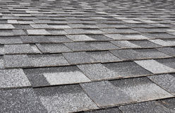 Asphalt Shingles Photo. Close up view on Asphalt Roofing Shingles Background. Roof Shing Stock Image