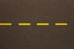 Asphalt - Single dashed line (Texture) royalty free stock photography