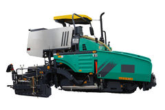 Asphalt spreading machine Royalty Free Stock Photography