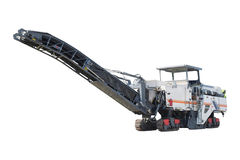 Asphalt spreading machine Stock Photography