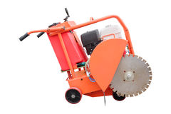 Asphalt spreading machine Royalty Free Stock Photos