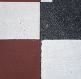 Asphalt - Square Texture Pattern Stock Photography
