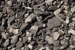 Texture of soil stock image