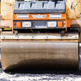 Asphalt surfacing manual labor. Royalty Free Stock Photography