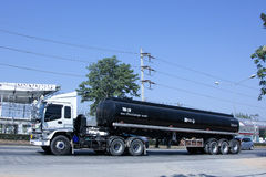 Asphalt tank Trailer Truck Stock Photos