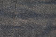 Asphalt or Tar Texture of Old Roofing royalty free stock photo