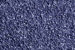 Asphalt texture in blue color. Royalty Free Stock Images
