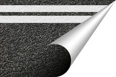 Asphalt texture with copyspace Royalty Free Stock Photography