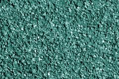 Asphalt texture in cyan color. Royalty Free Stock Photography