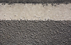 Asphalt texture with line markings Royalty Free Stock Photography