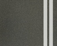 Asphalt texture with lines Stock Photo