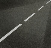 Asphalt texture with lines royalty free stock image