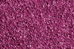 Asphalt texture in pink color. Stock Image