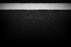 Asphalt texture with road markings background, illustration vect Royalty Free Stock Photography
