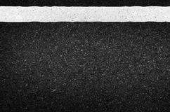 Asphalt texture with road markings background, illustration vect Royalty Free Stock Image