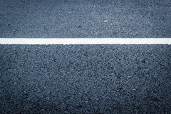 Asphalt texture with white line royalty free stock images