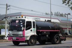 Asphalt Truck d'entreprise de transport de Thanachai Photographie stock