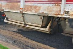 Asphalt Truck Stock Photography