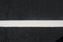 Asphalt von einem carpark Lizenzfreies Stockbild