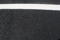 Asphalt von einem carpark Stockfoto