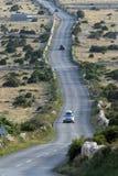 Asphalt Winding Road royalty-vrije stock fotografie