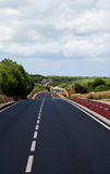 Asphalt Winding Road Stock Photos