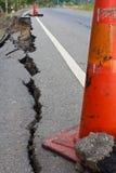 Asphalte cassé. Image libre de droits