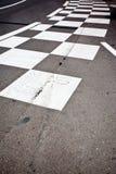 Asphalte de course de voiture Photos libres de droits