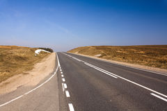 Asphalted road Royalty Free Stock Photo