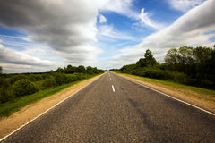 Asphalted road Royalty Free Stock Image